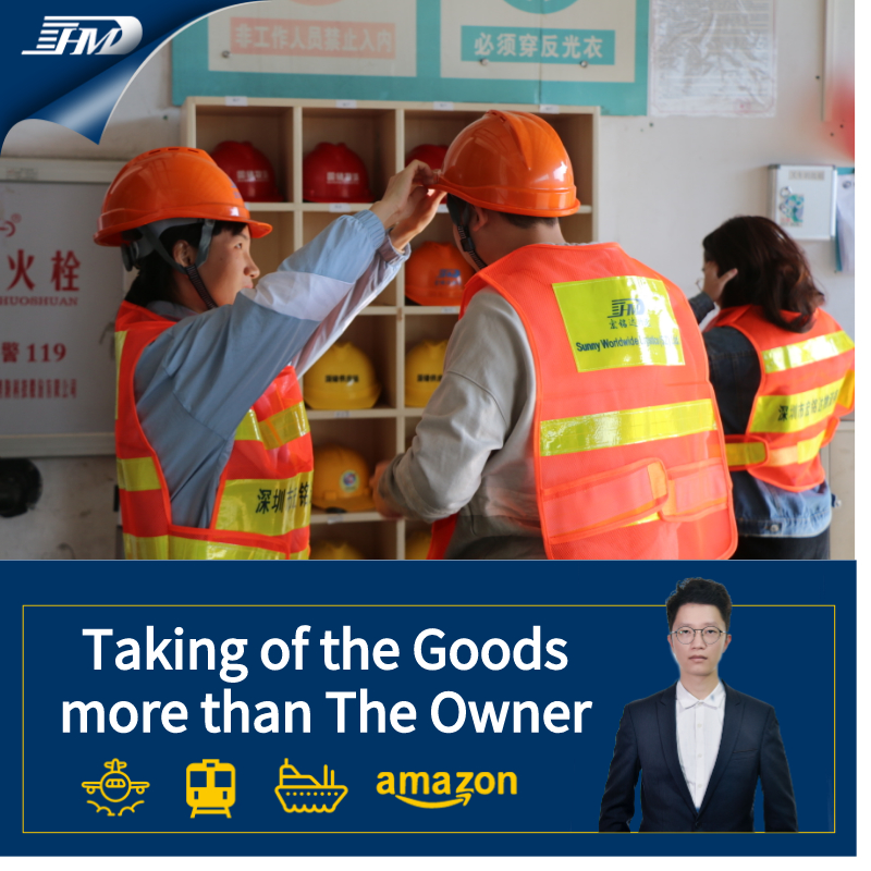 Door to door service from China to US with customs clearance customs tax