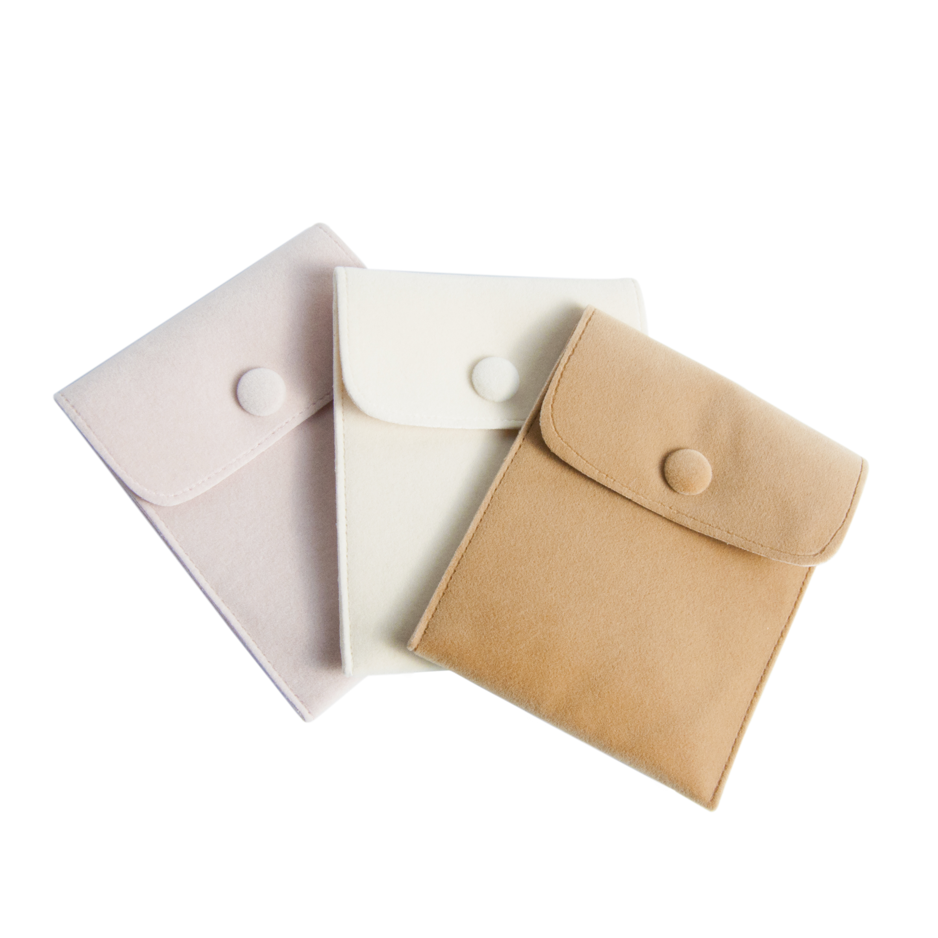 jewelry packaging velvet pouchsnap pouch