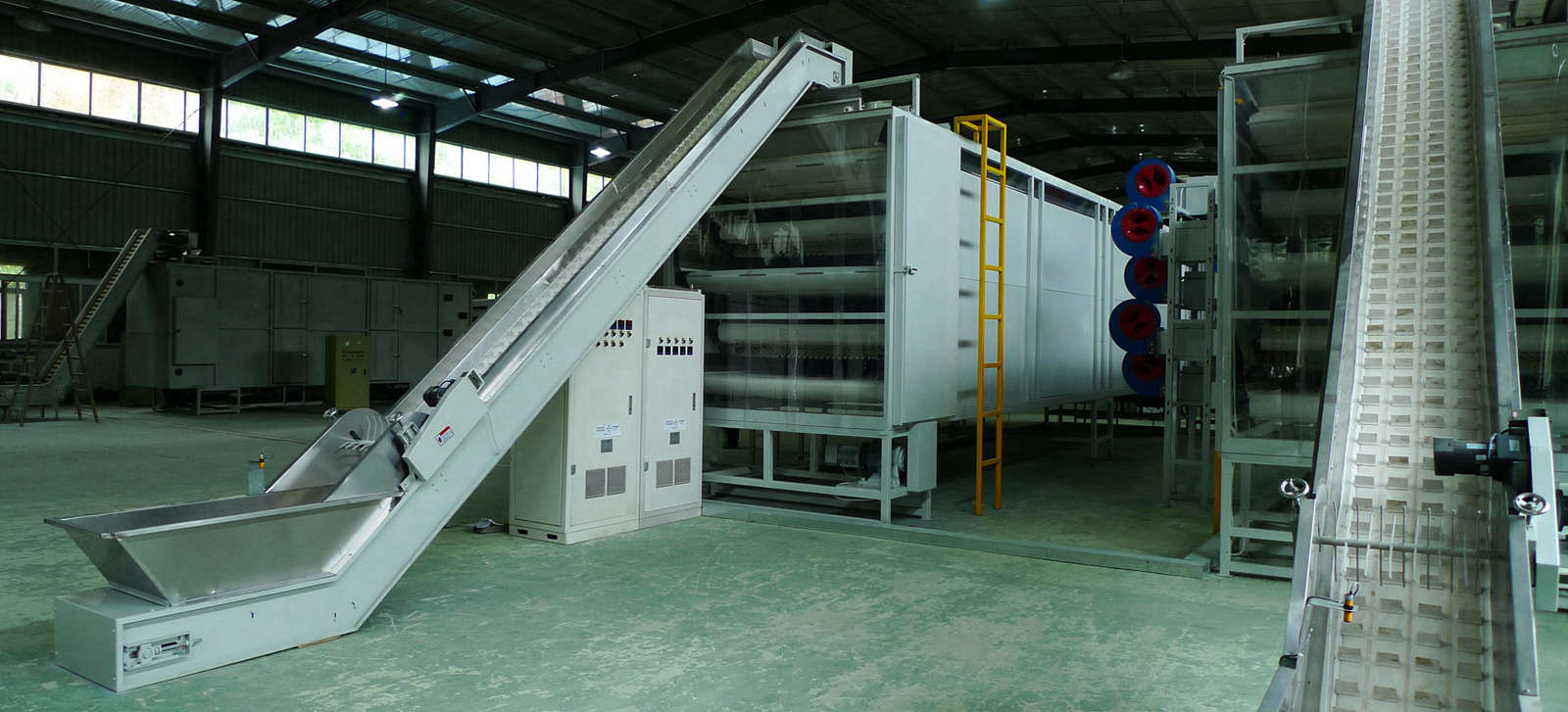 Continuous black tea processing line