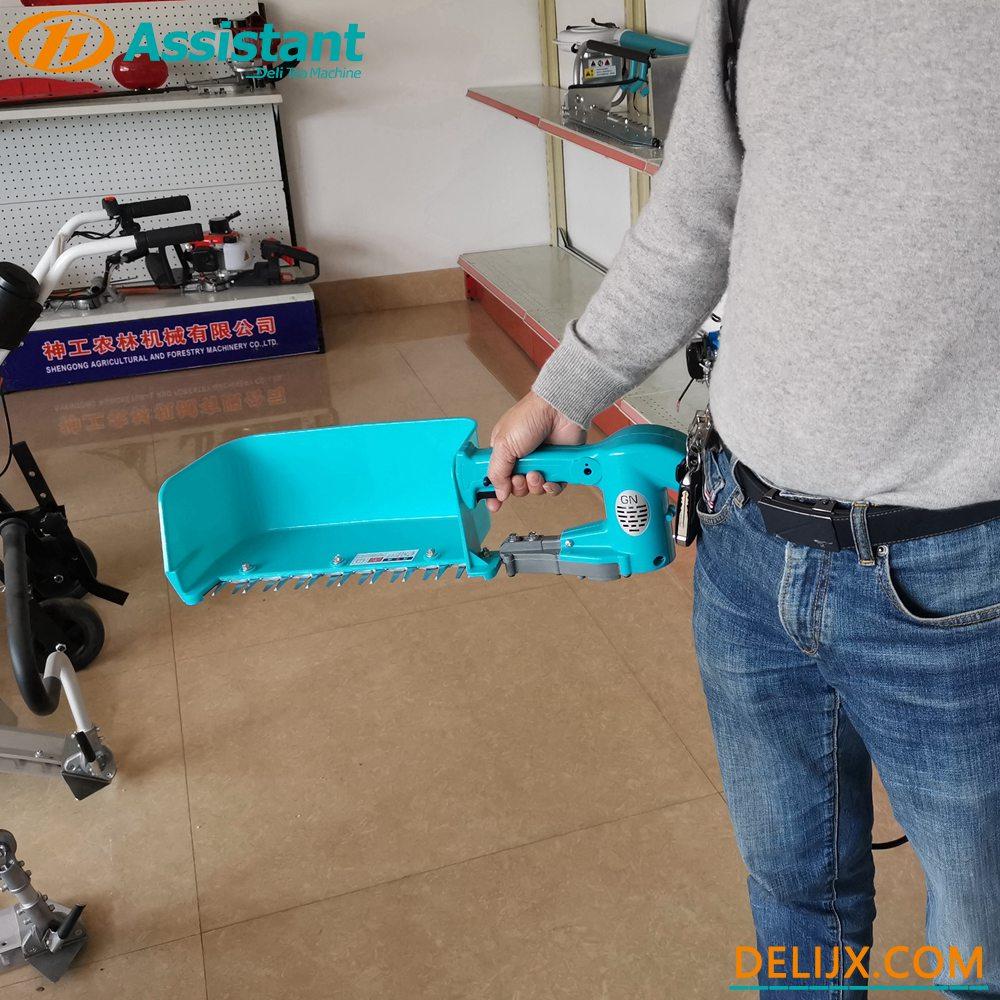 Trung Quốc Pin Lithium 24V 10Ah Vận hành Máy thu hoạch trà mini không chổi than DL-4CD-35 nhà chế tạo