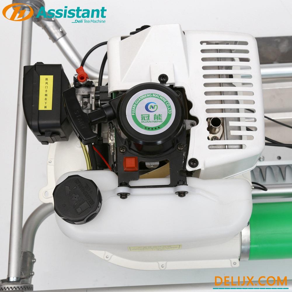 China Double-Men Digunakan Bilah Melengkung Ochiai V8 Mesin Pemetik Teh 2-Strok DL-4CH-1210 pengilang