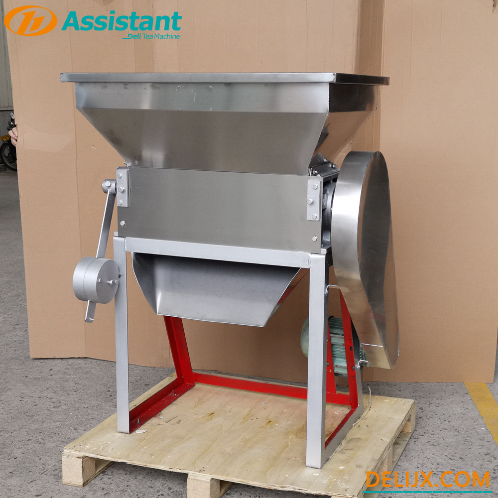Cina Fragmen Teh Menghancurkan Mesin Shredding Teh Daun Crusher Shredder Untuk Packing Tea Bag DL-6CCQ-63 pabrikan