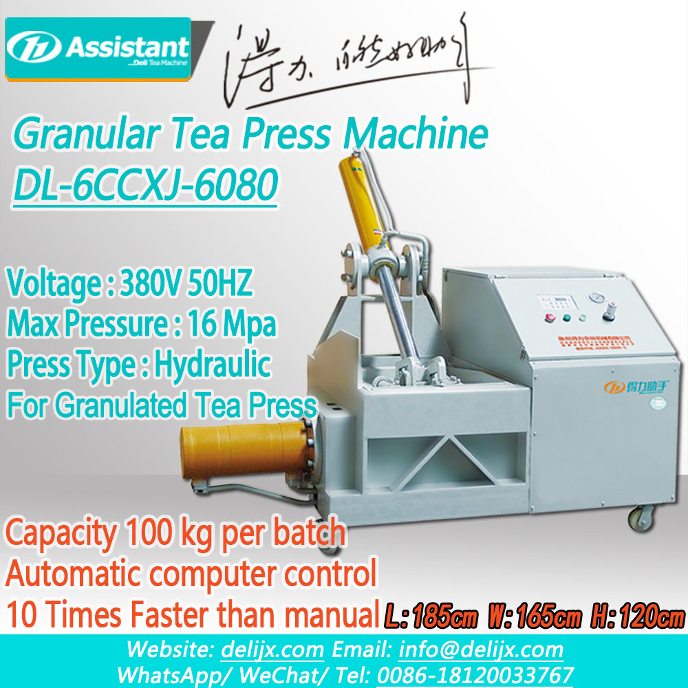 China Automatic Type Granular Tea Molding Froming Shaping Machine DL-6CCXJ-6080 manufacturer