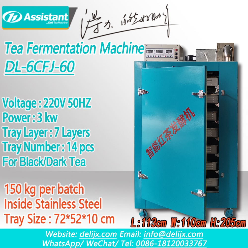 Intelligent Automatic Black Tea Fermentation Process Cabinet