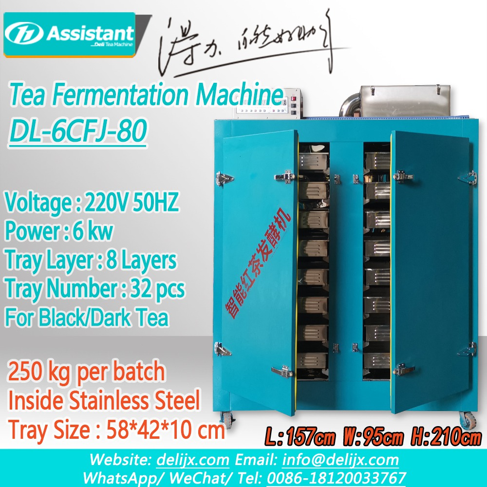 Black Tea Continuous Oxidation Fermentation Machine For Tea