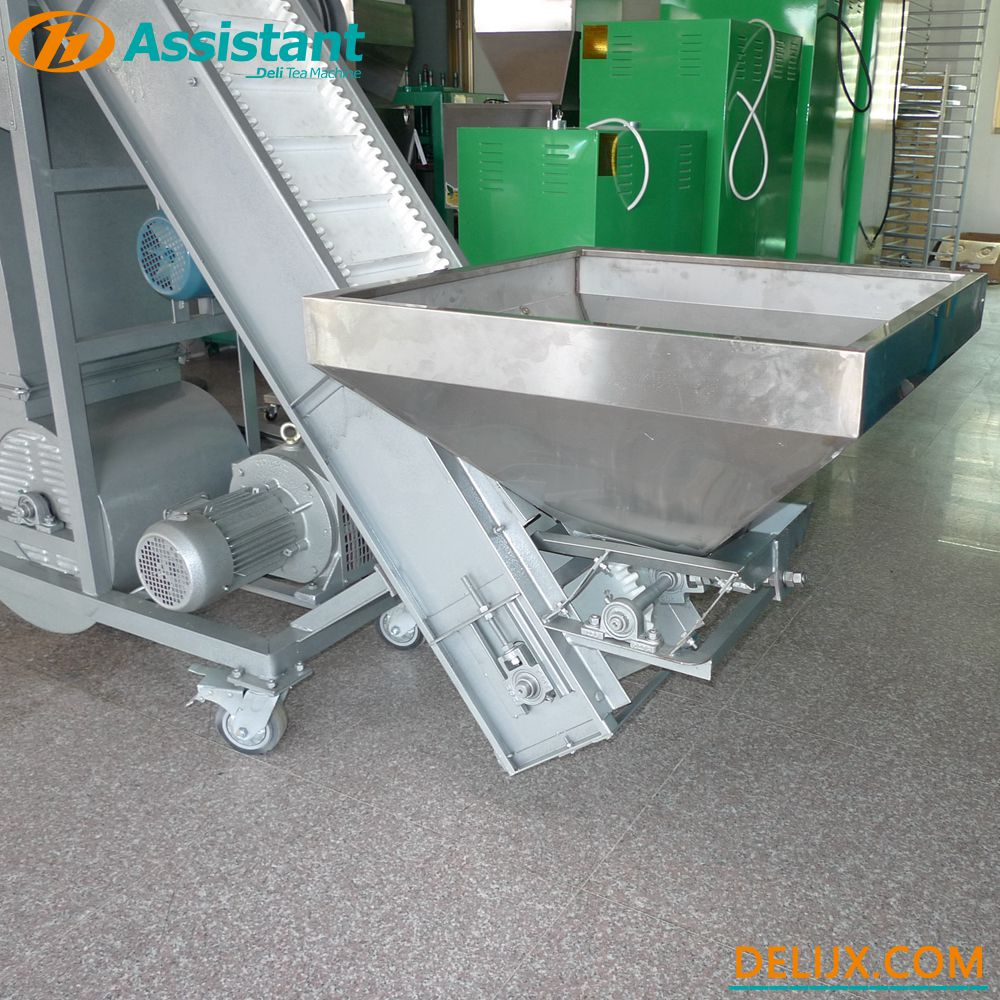 China Continuous Type 4 Outlet Tea Leaf Winnowing Sorting Machine DL-6CFX-40 manufacturer