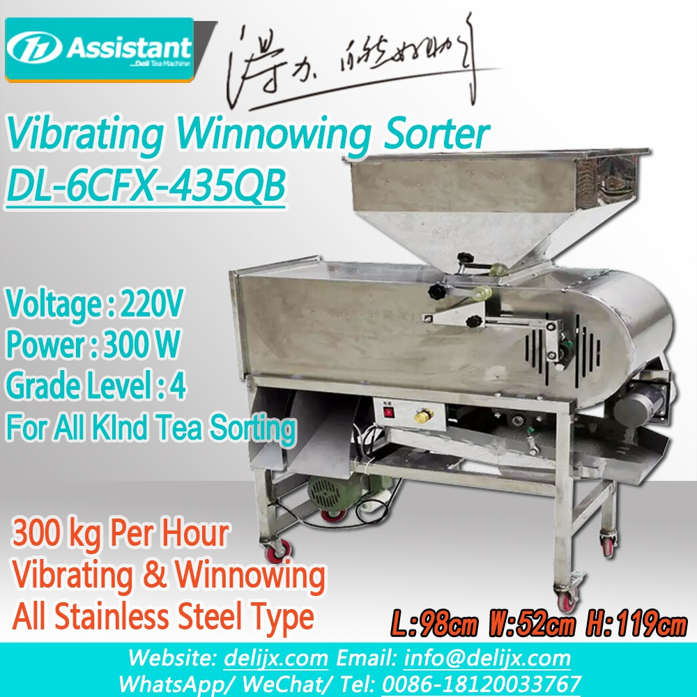 Orthodox Black/Green Tea Screener Sorter Winnower Machine