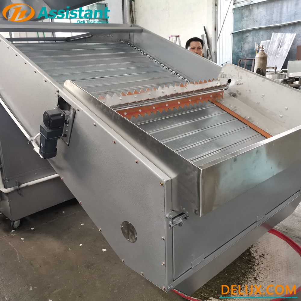 China Wood/Coal Heating Continuous Chain Plate Tea Drying Machine DL-6CHL-CM30 manufacturer