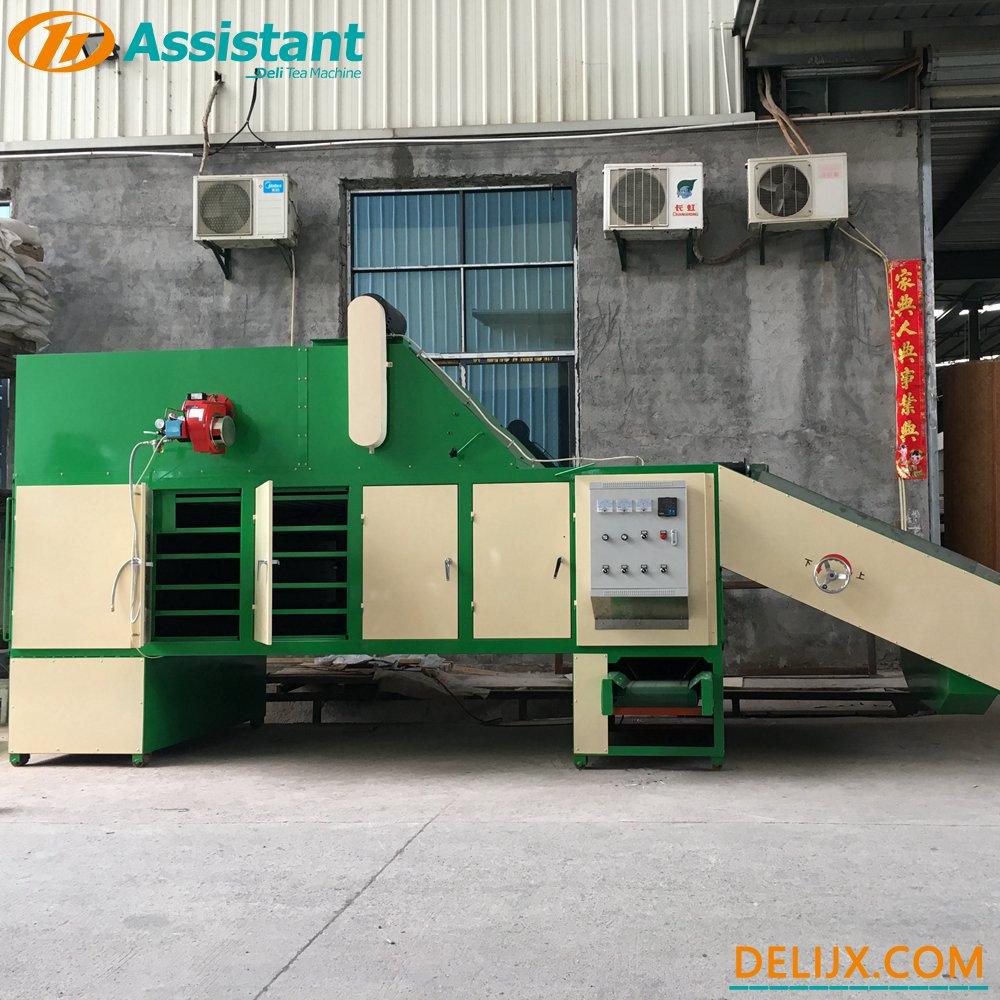 porcelana Máquina de secado de té tipo placa de cadena continua de calefacción diesel DL-6CHL-CY20 fabricante
