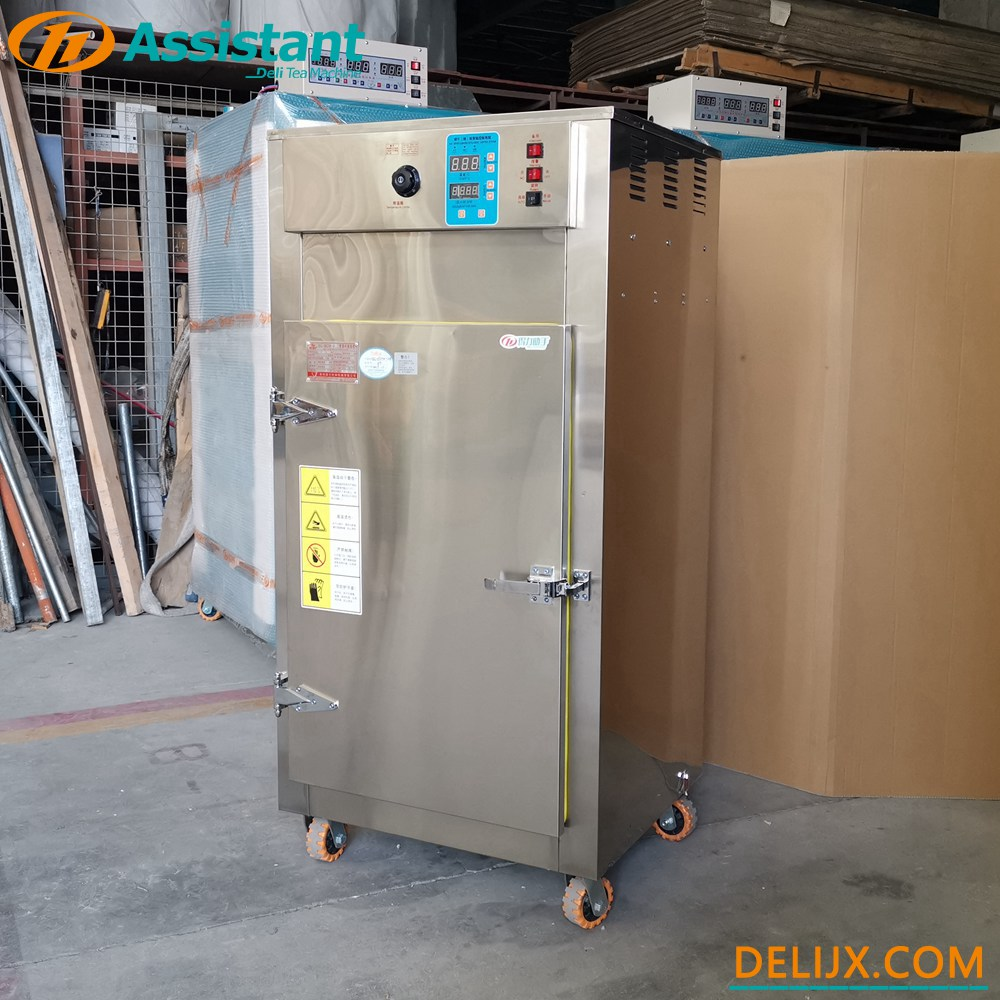 China 10 Layers 50cm Tray Mini Smallest Rotary Type Tea Drying Machine DL-6CHZ-2QB manufacturer