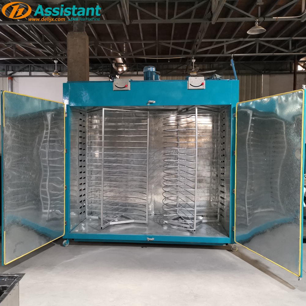 2 Racks 36 Layers 110cm Biggest Rotary Type Tea Drying Machine DL-6CHZ-34