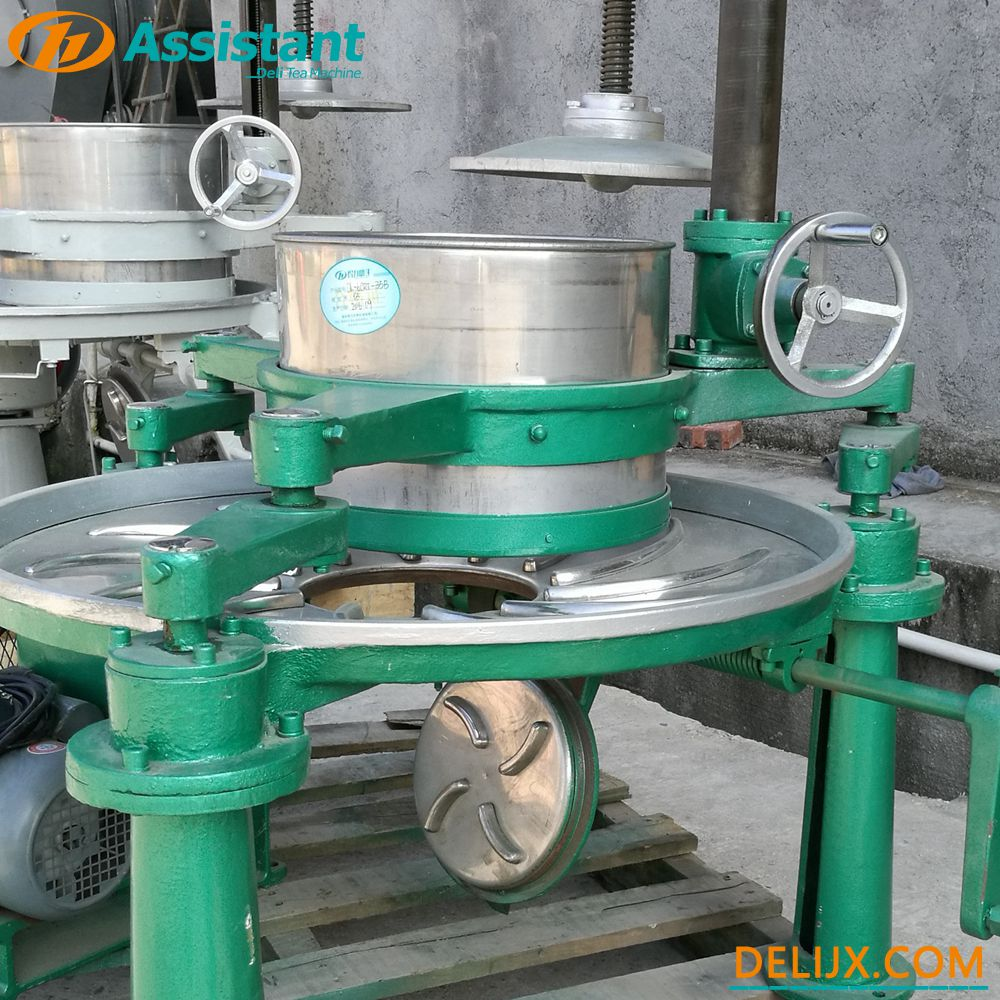 Black Green Tea Twister Processing Machinery Twister Step Machine