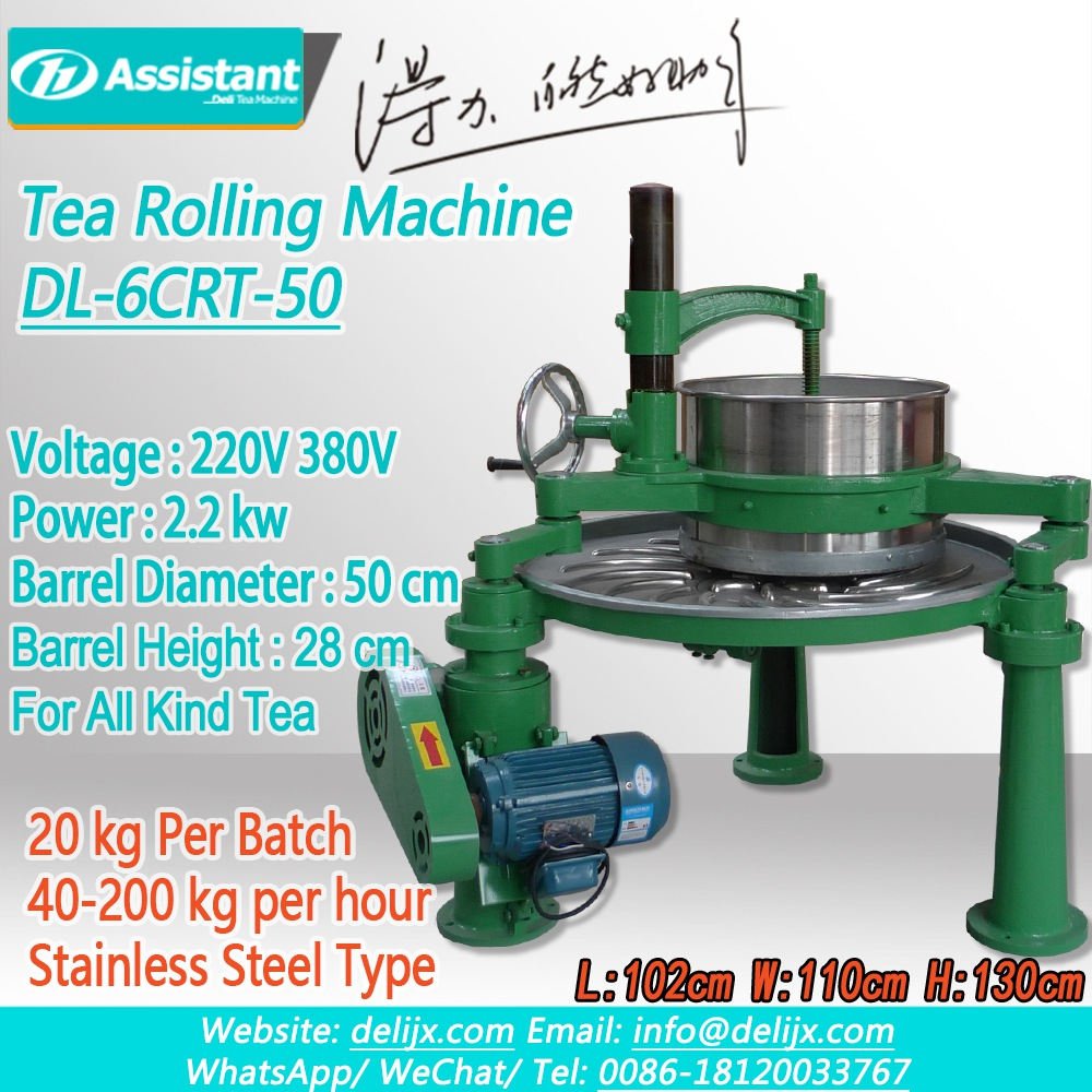 Tea Twisting Machine For Strand