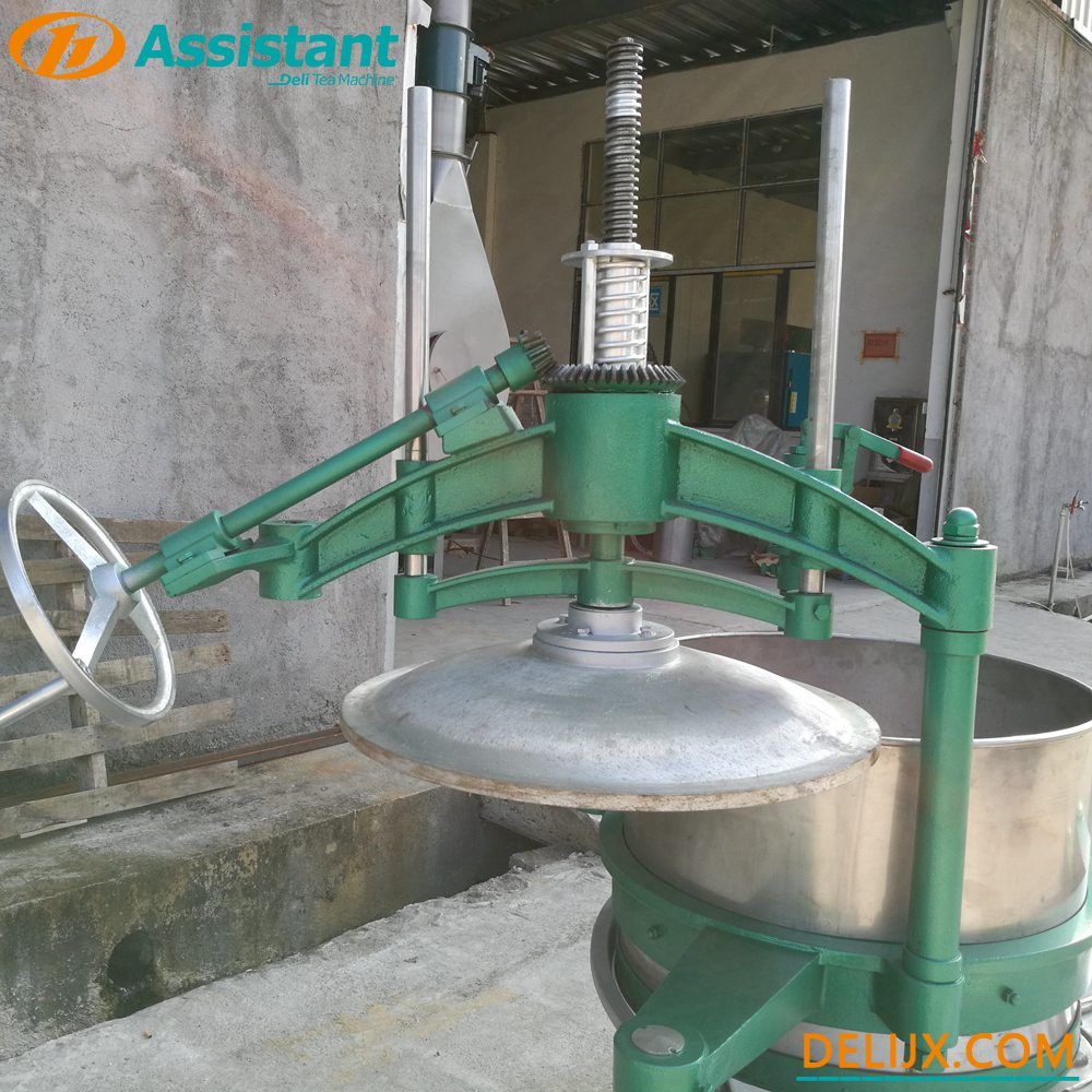 China 65cm Biggest Tea Rolling Machine With 2 Arms And  Stainles Steek Table DL-6CRT-65 manufacturer