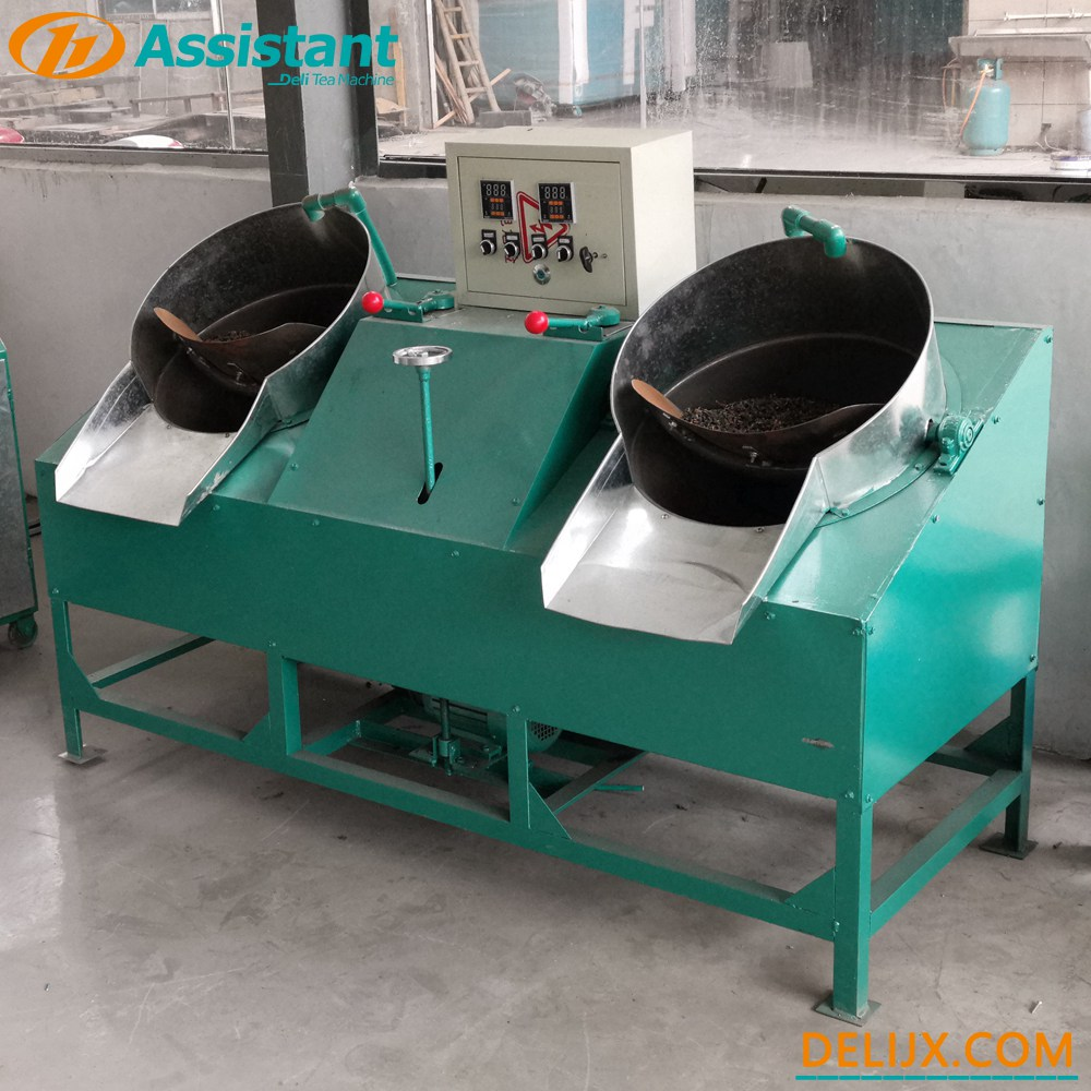 Trung Quốc Double Pan 2 nồi Pearl Type Tea Road Shaping Machine DL-6CSG-50 nhà chế tạo