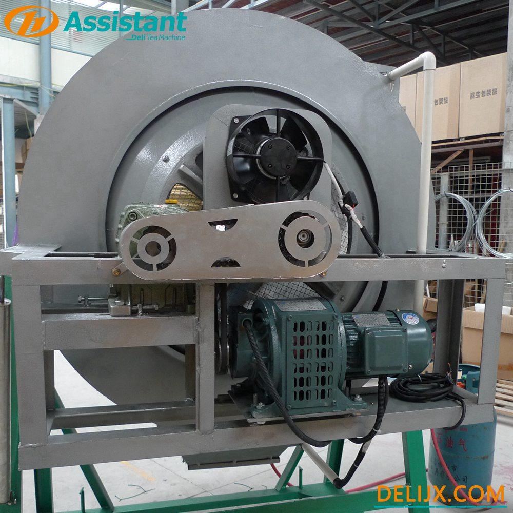 ჩინეთი 100 სმ დიამეტრი LPG / LNG გათბობა მწვანე ჩაის შემწველი მანქანა DL-6CST-100 მწარმოებელი