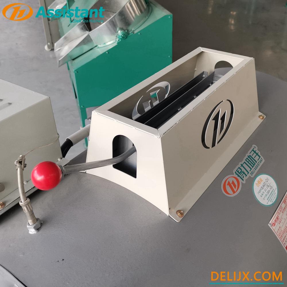 China Mesin Pemanasan Gas Diameter 50cm Hijau / Oolong / Mesin Tetapan Teh Kuning DL-6CST-50 pengilang