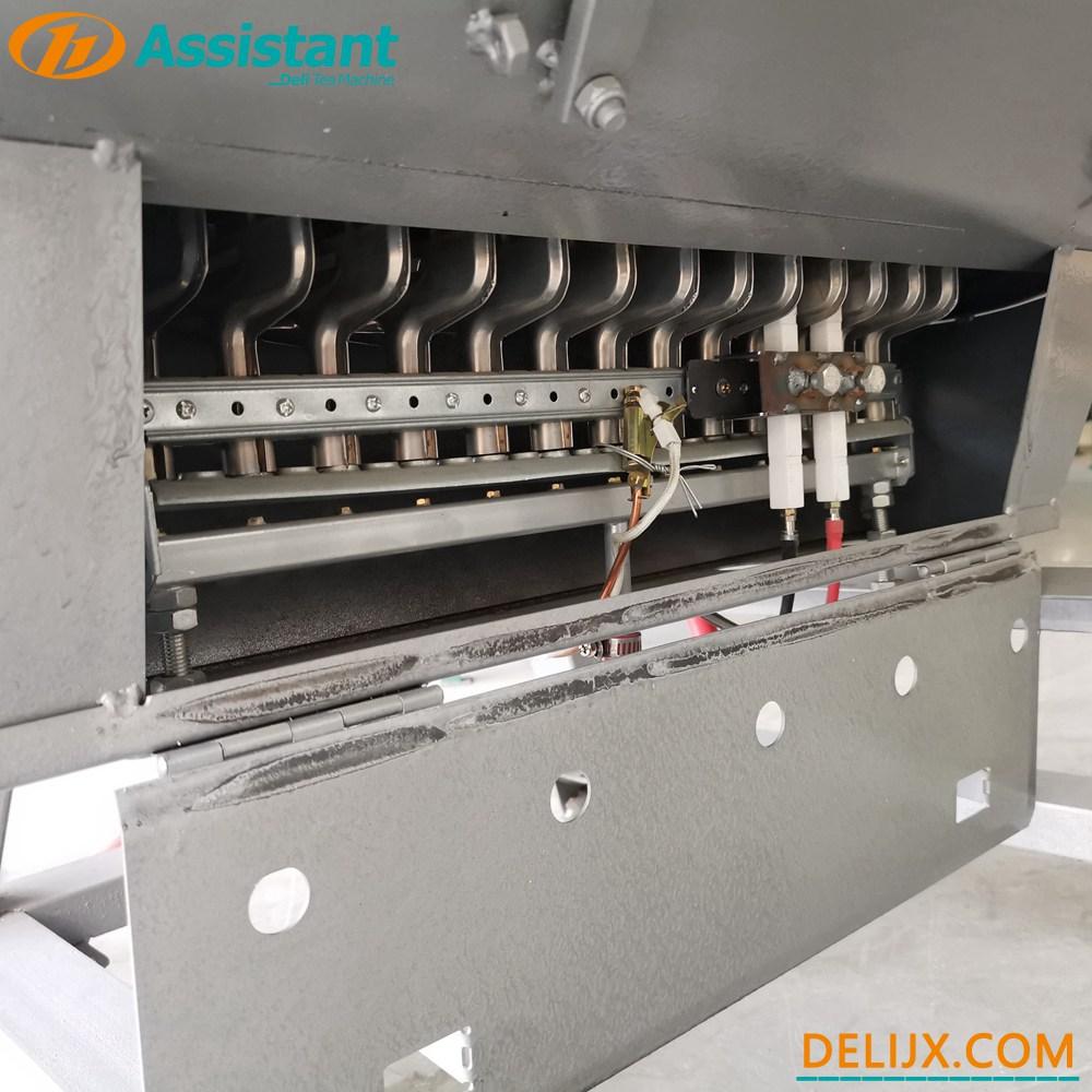 Cina 50cm Diameter Pemanas Gas Mesin Fiksasi Teh Hijau / Oolong / Kuning DL-6CST-50 pabrikan