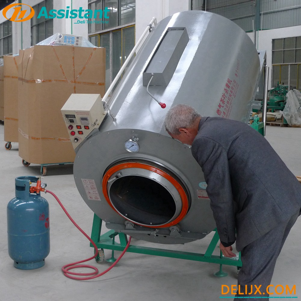 900mm Cylinder Green Tea Leaf Roasting Steam Machine Equipment