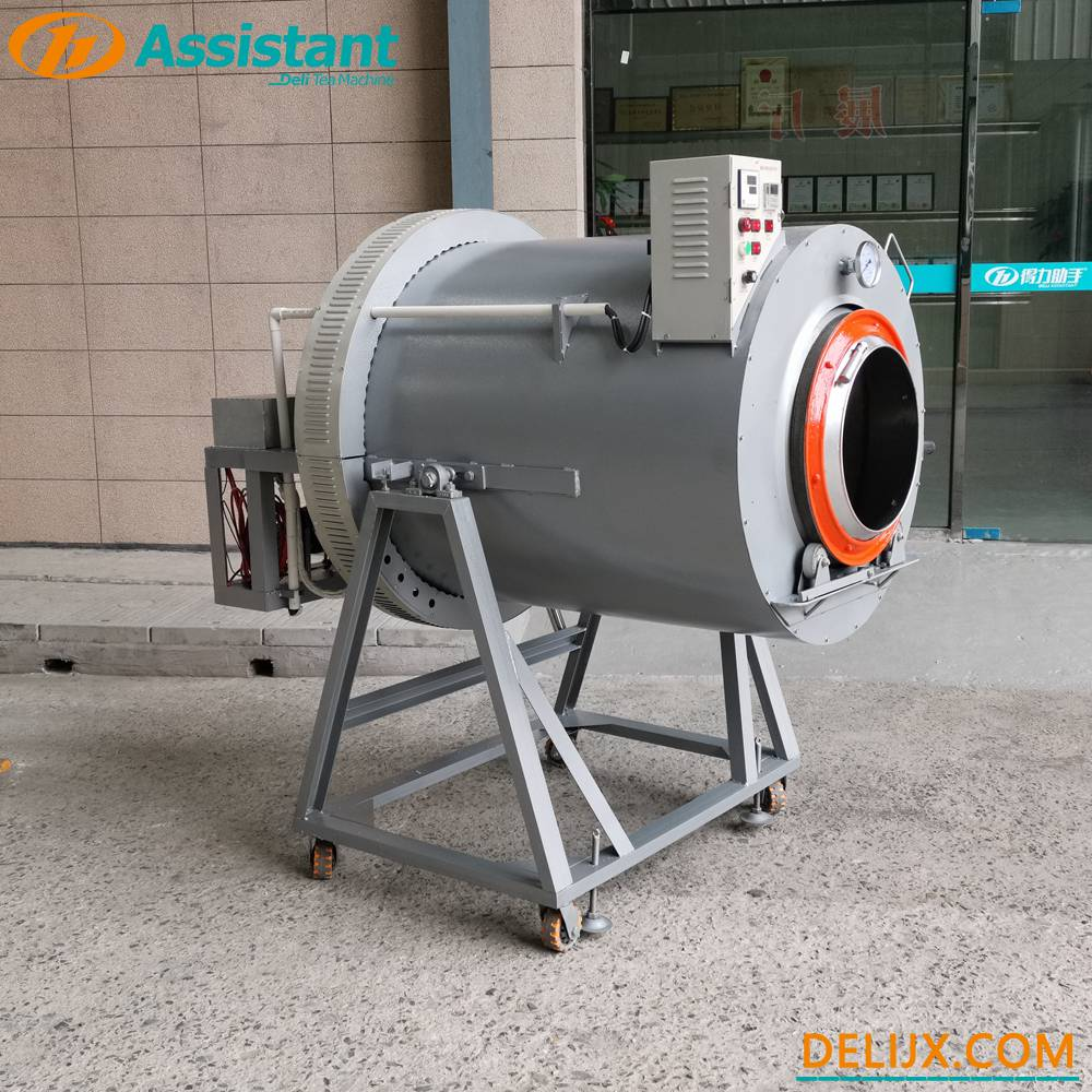 Electric Heating Green Tea Panning Machine Tea Fixation Machine