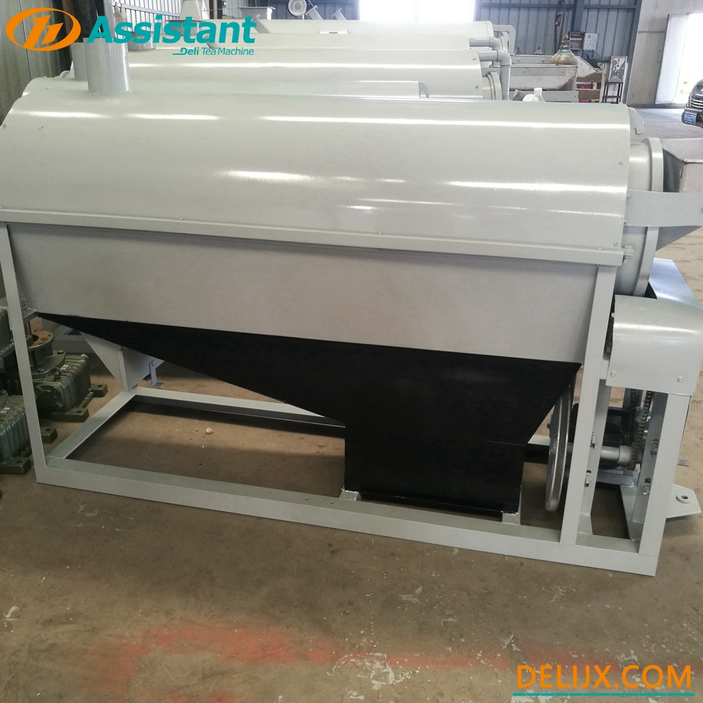 China Wood/Coal Heating Continuous Type Green Tea Enzymatic Machine DL-6CSTL-CM80 manufacturer