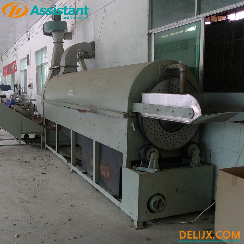 Continuous Wood Coal Heating Green Tea Enzymatic Machine