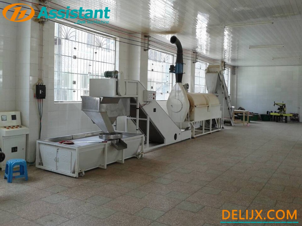Electric Heating Continuous Tea Fixing Machine Fix Tea Machine