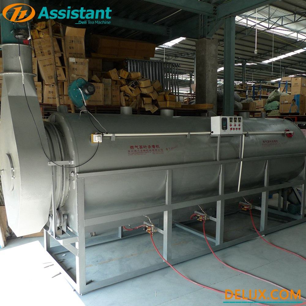 China LPG/LNG Heating Continuous Green/Oolong Tea Steaming Machine DL-6CSTL-Q100 manufacturer