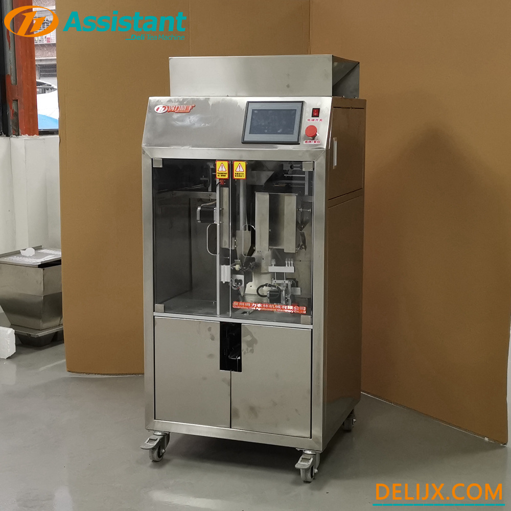 Automatic Plastic Tea Pouch Packing Machine With Square The Package