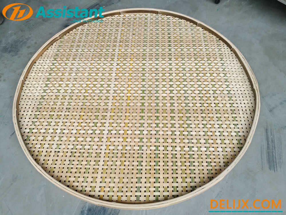 China With 20pcs Bamboo Pallets Tea Natural Wither Rack DL-TQJ-20 manufacturer