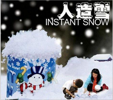 Polymères super absorbants - neige instantanée