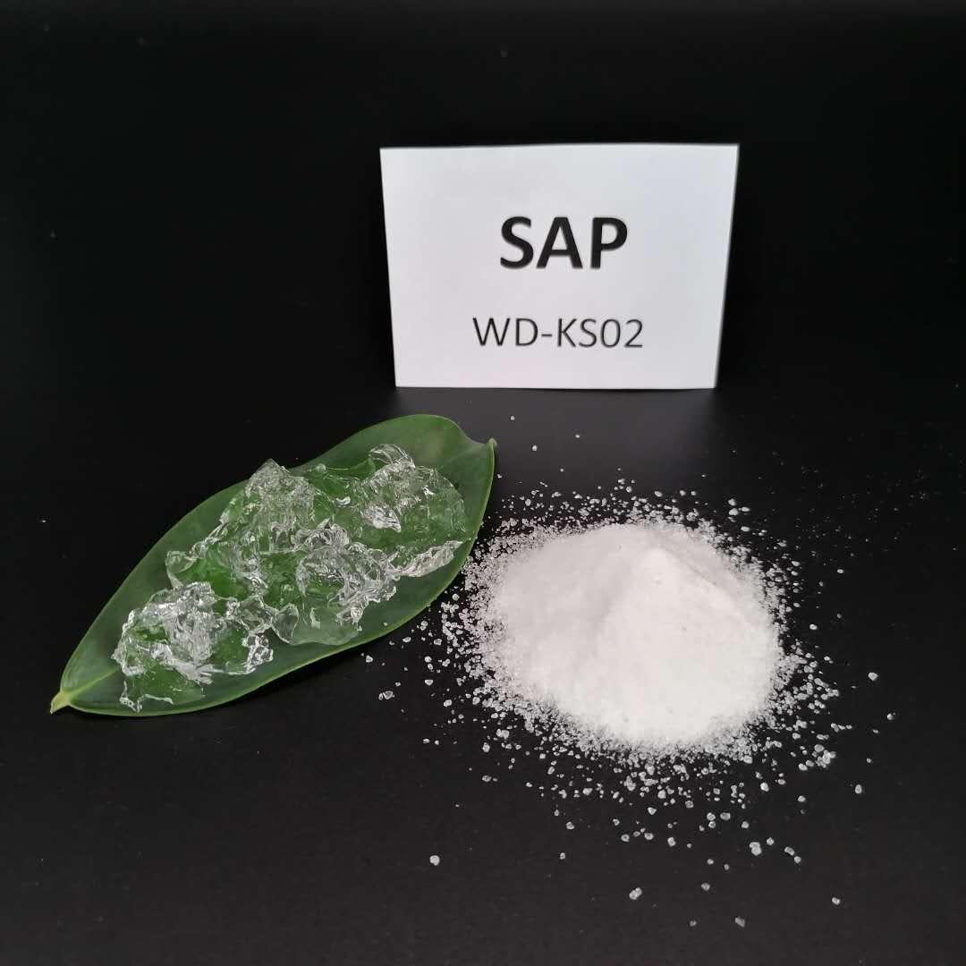 Polímero súper absorbente para jardines.