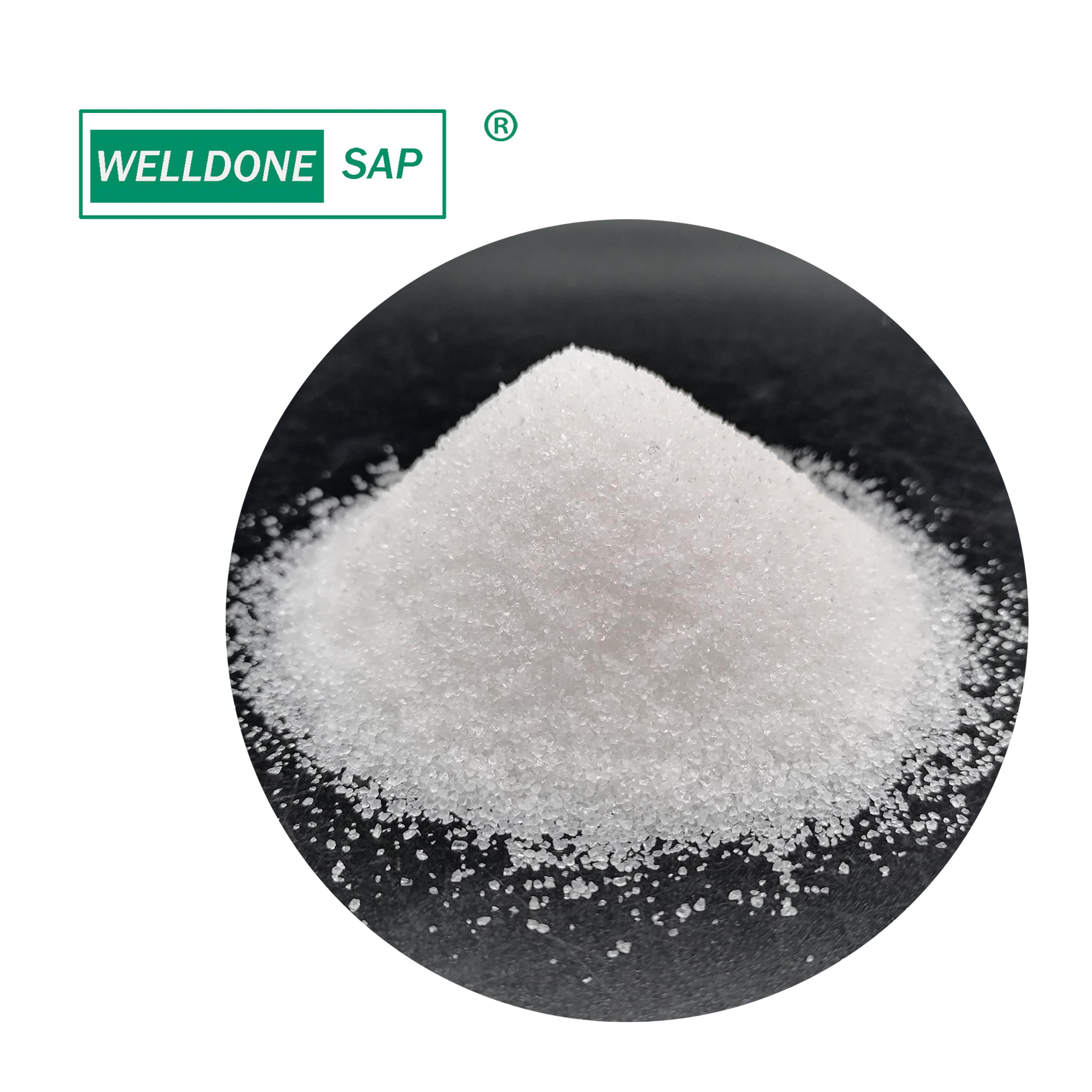 Super absorbent polymer Potassium polyacrylate  for soil