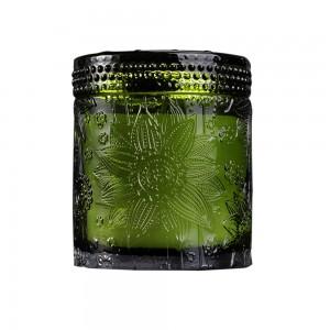 Lotus candle jar