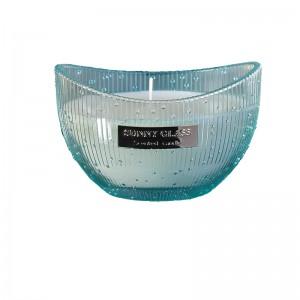 Boat shape candle jar