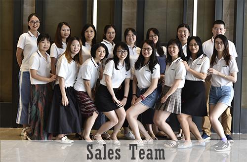 Sunny Glassware Sales Team