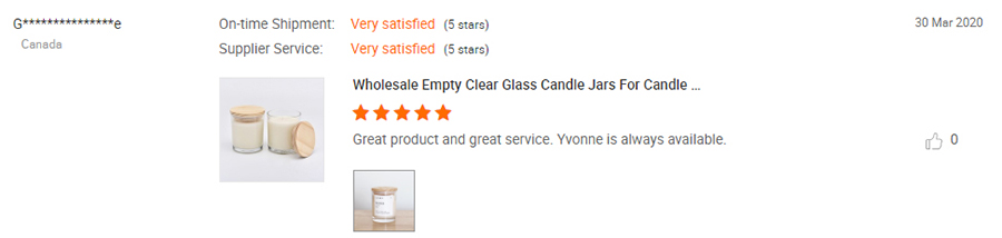 scented candle jars with lids