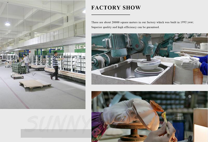 Ceramic candle jars factory