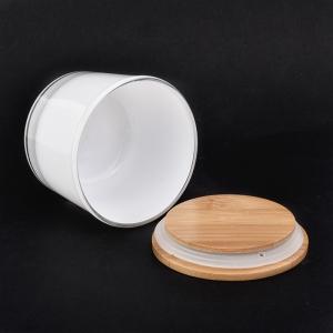 kapaklı sıcak satış beyaz 4 oz cam mum kavanozu