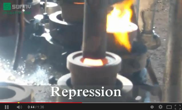 Glassware Machine Pressed Method