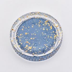 7 oz glass jar with flower designs wholesaler
