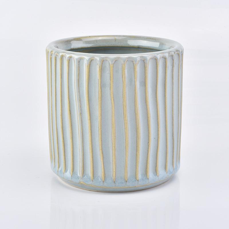 Decorative Ceramic Candle Jars Wholesale