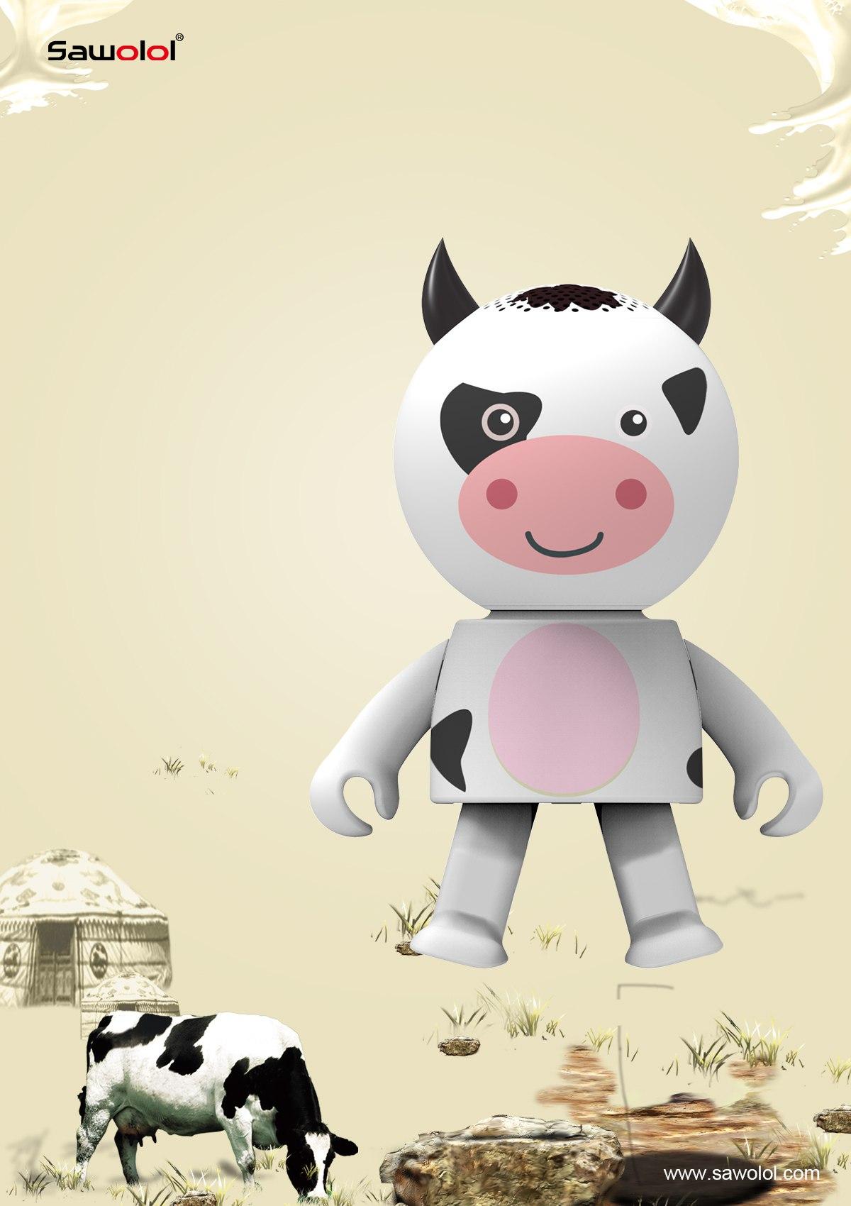 China supplier mini animal speaker