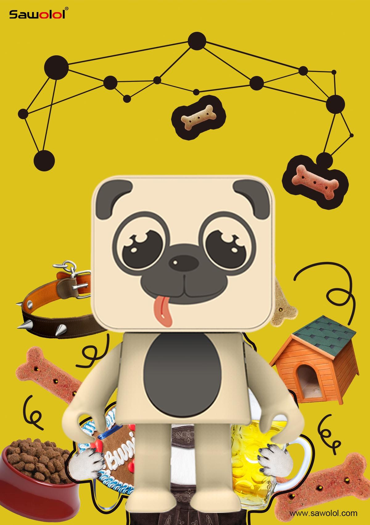 bluetooth speaker dog