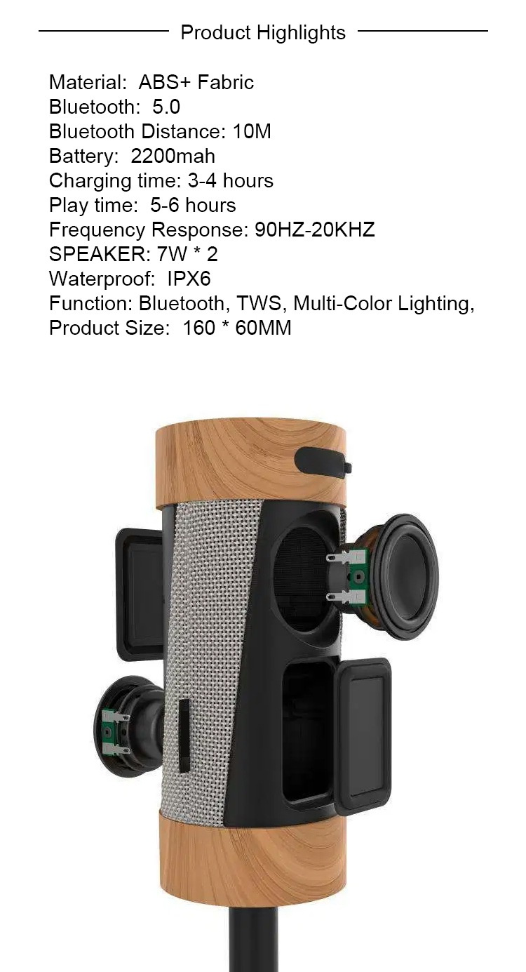 china wireless outdoor speakers supplier