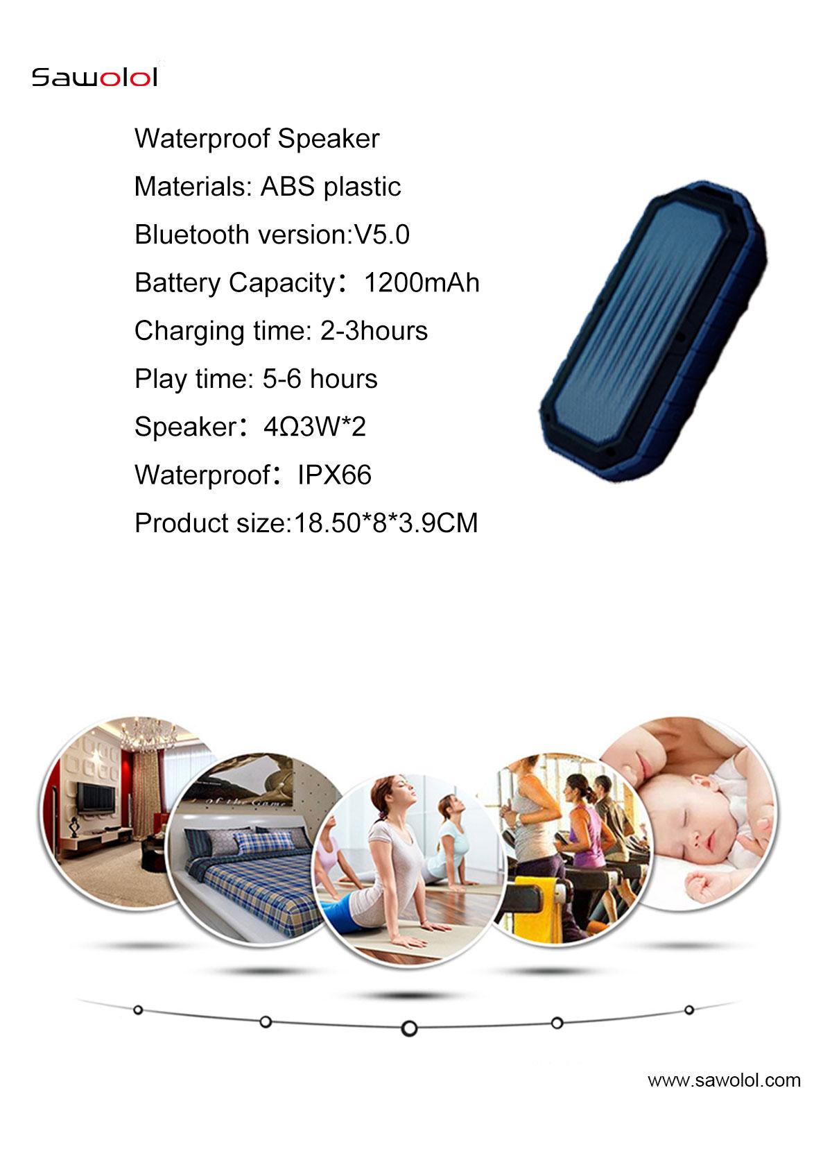 Waterproof speaker for shower china supplier