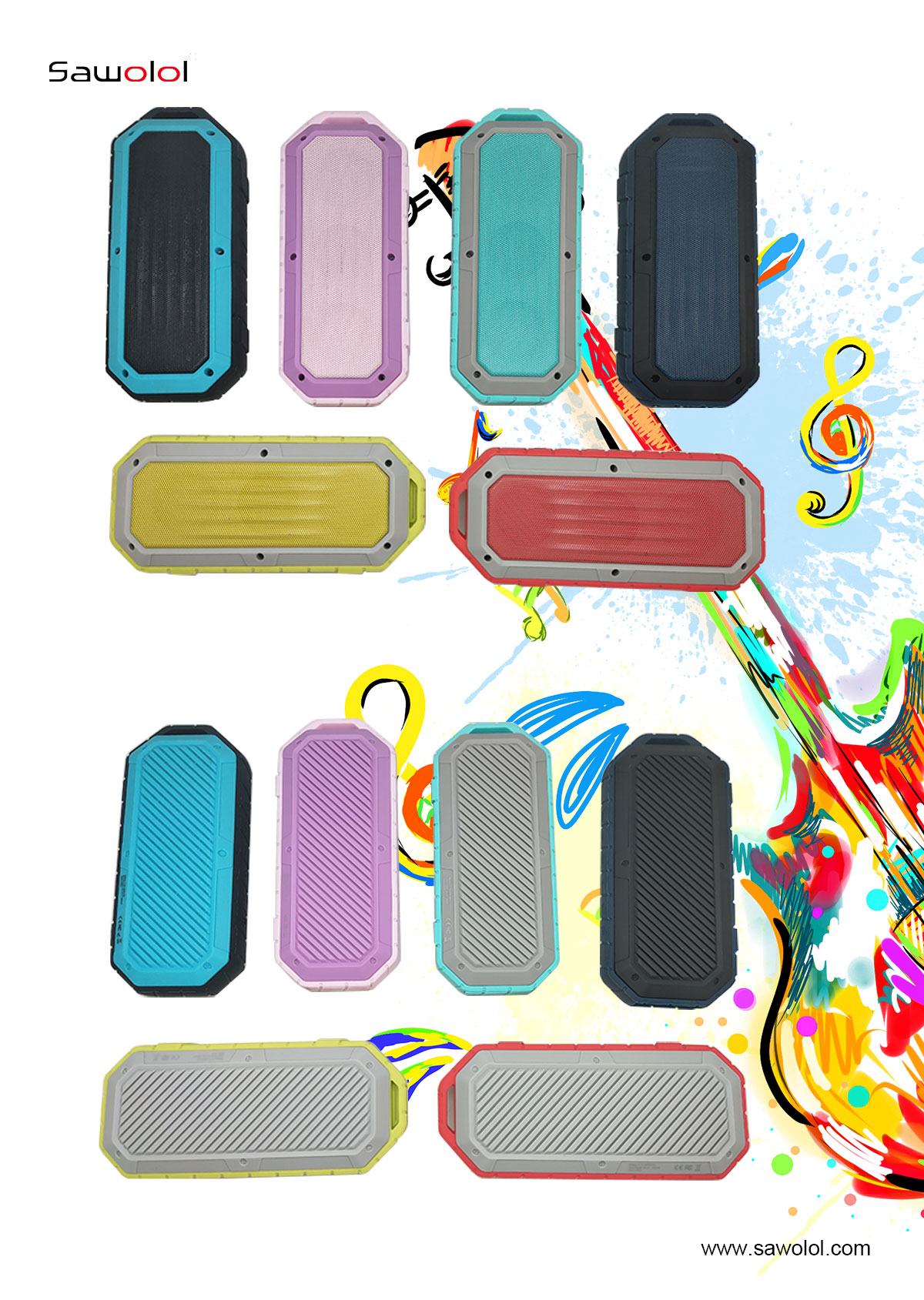 china waterproof bluetooth speaker for shower factory