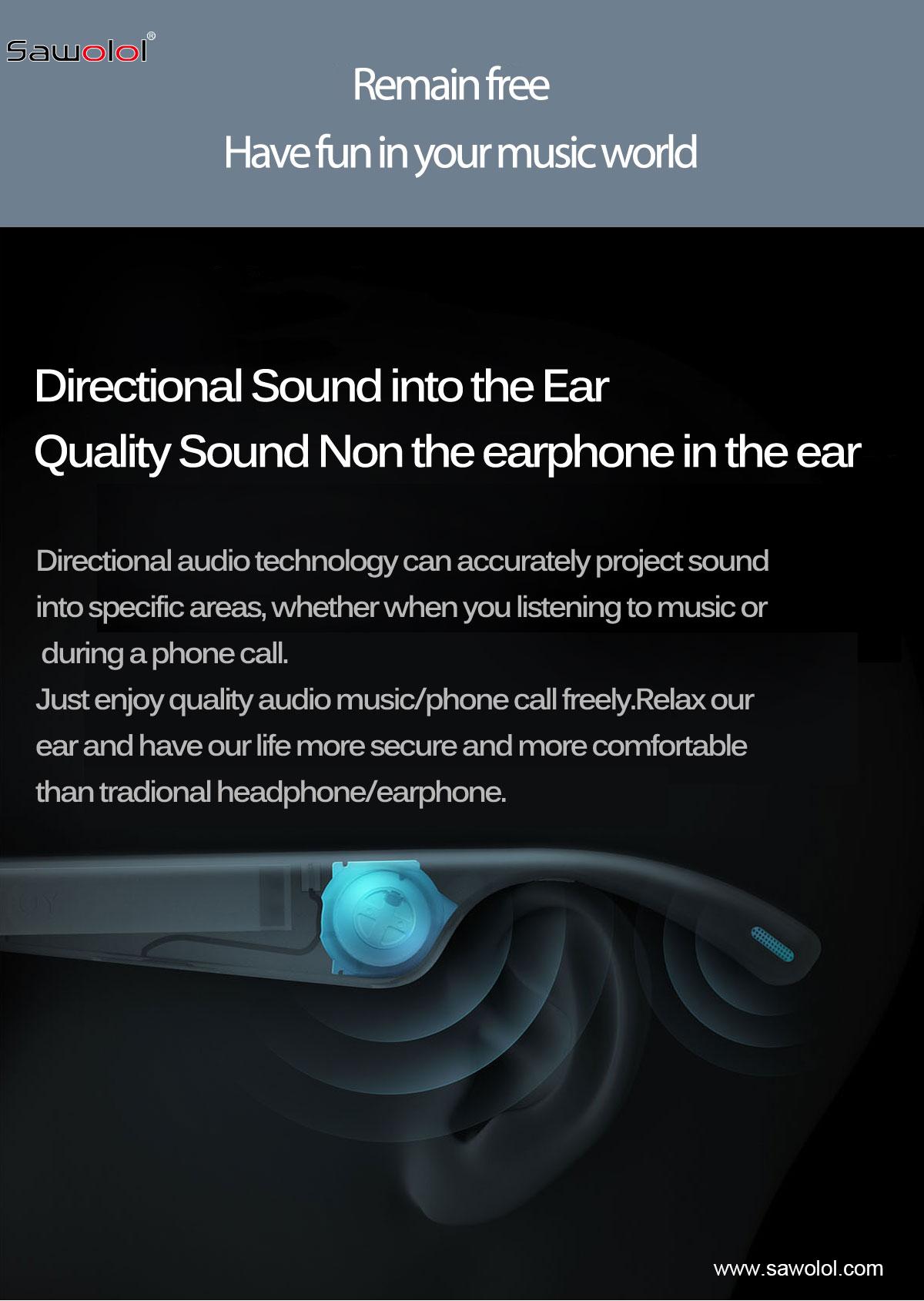 audio glasses china supplier