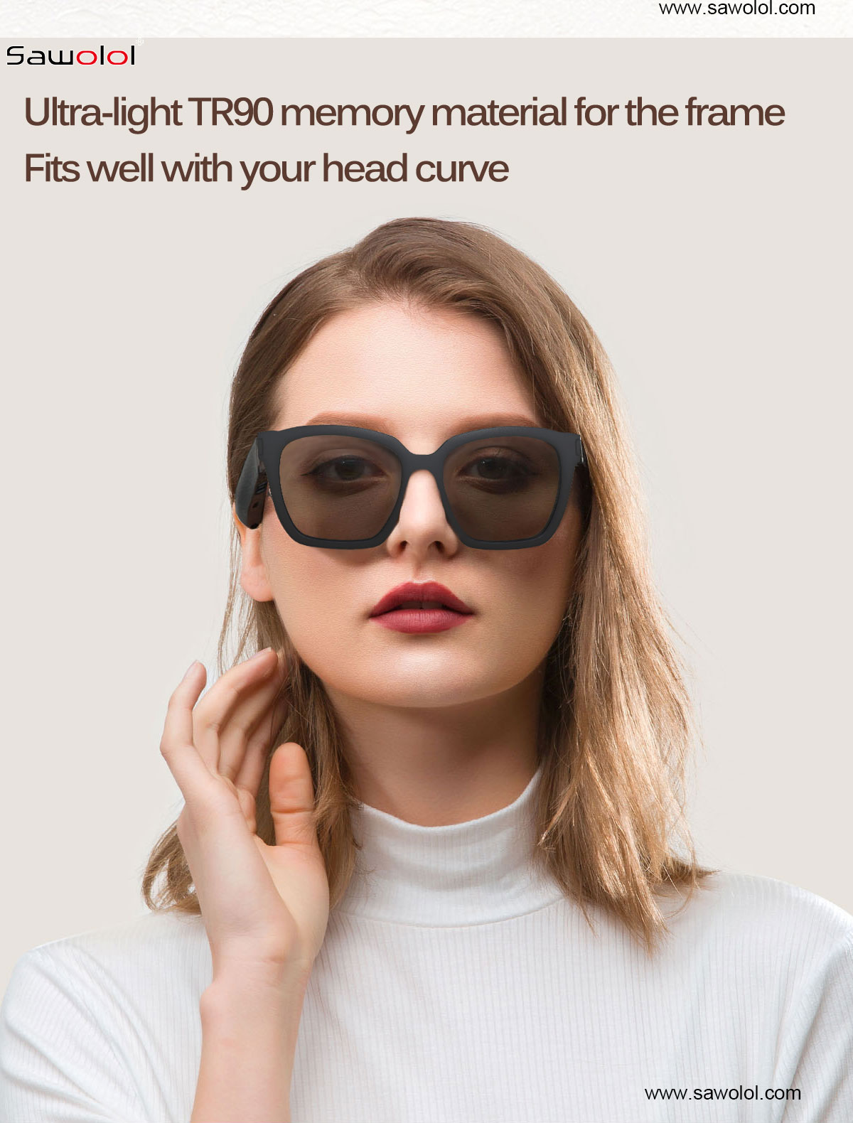 China sunglasses with speakers supplier