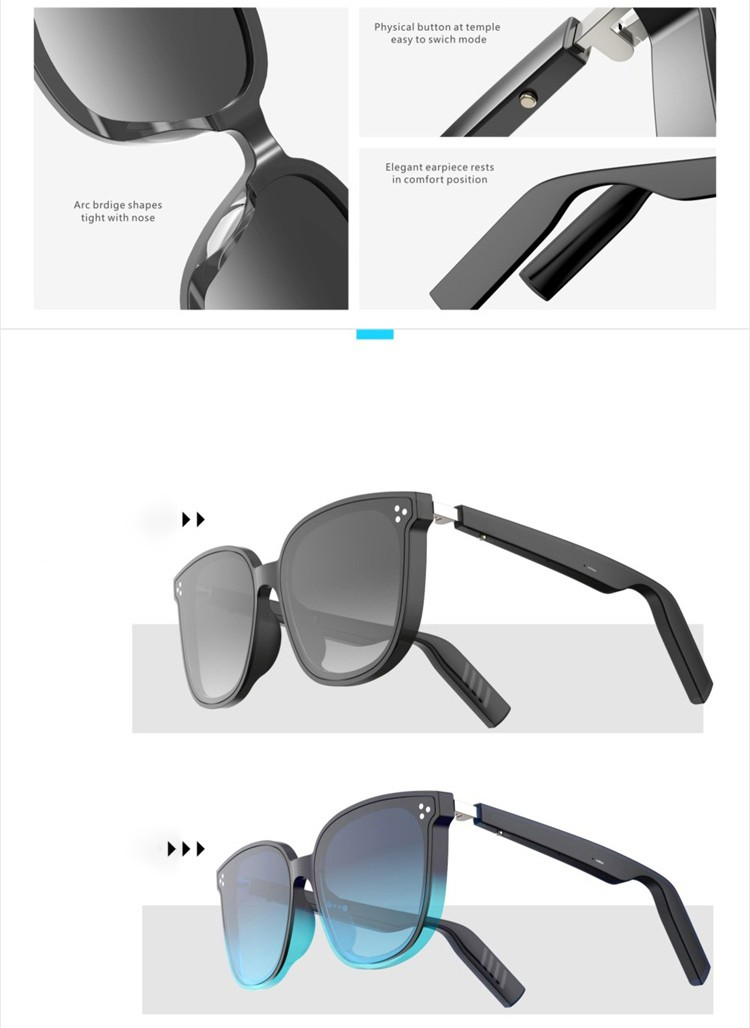 China blue tooth sunglasses manufacture